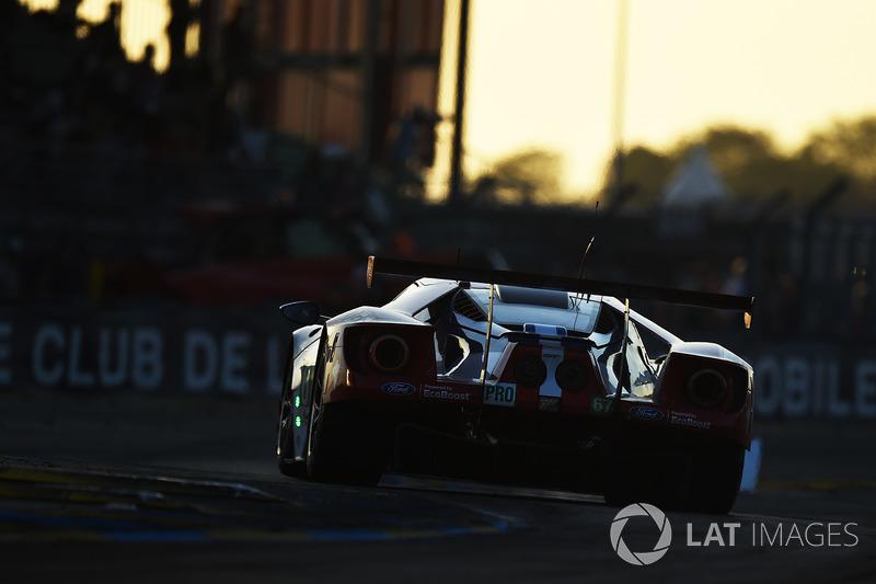 Второе место GTE Pro: Ford Chip Ganassi GT №67
