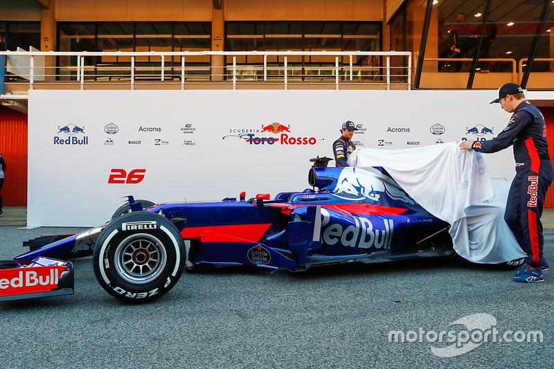 Carlos Sainz Jr., Toro Rosso et Daniil Kvyat, Toro Rosso