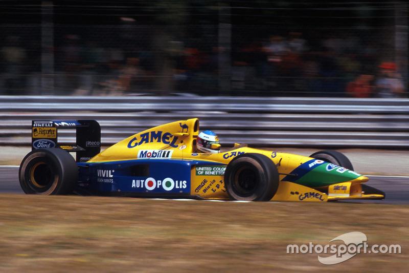1991: перехід до Benetton