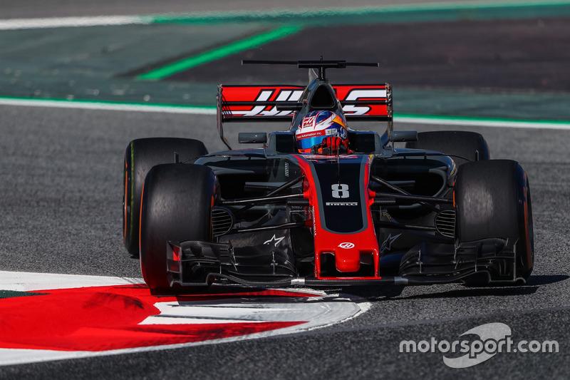 11. Romain Grosjean, Haas VF-17