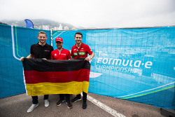 Maro Engel, Venturi; Nick Heidfeld, Mahindra Racing; Daniel Abt, ABT Schaeffler Audi Sport