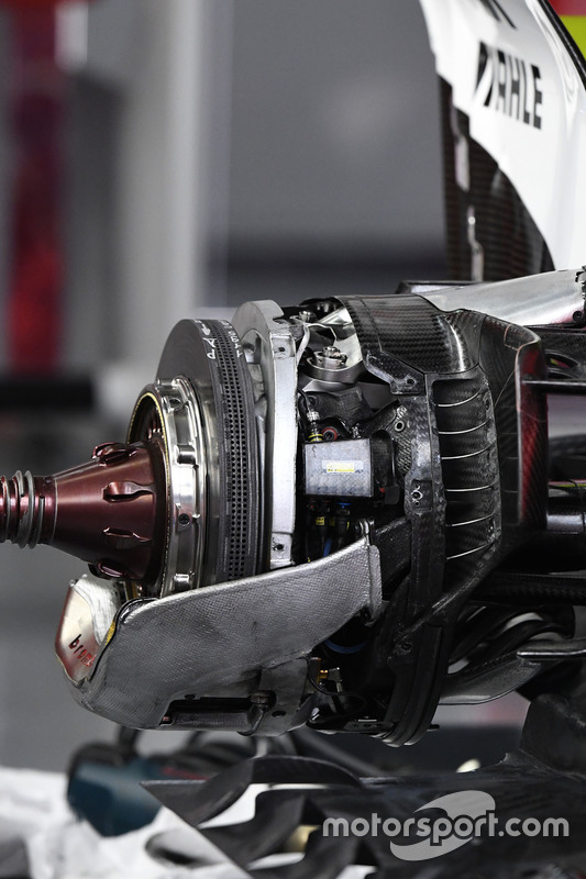 Williams FW40, freno anteriore