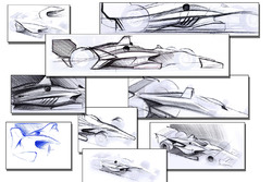 2018 IndyCar aerokit concept drawings