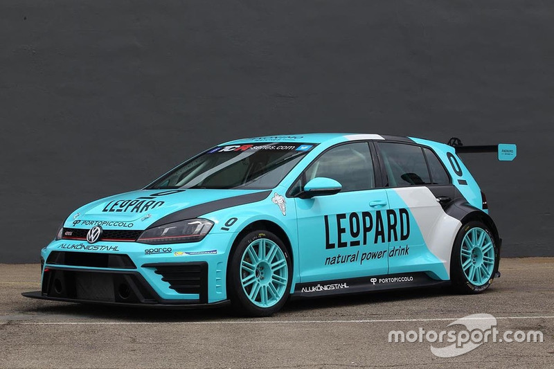 Leopard Racing Volkswagen TCR car