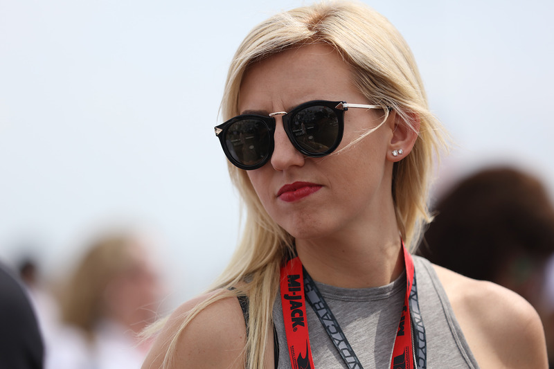 Courtney Force, esposa de Graham Rahal