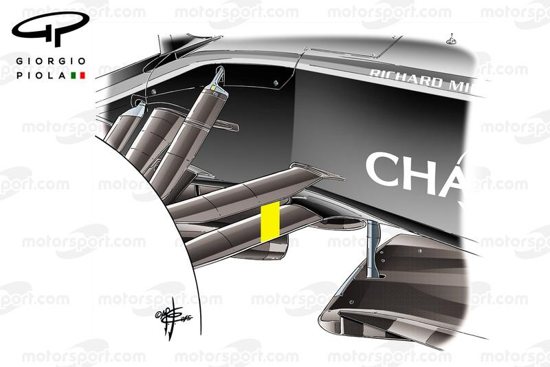 La suspension avant de la McLaren MP4-31