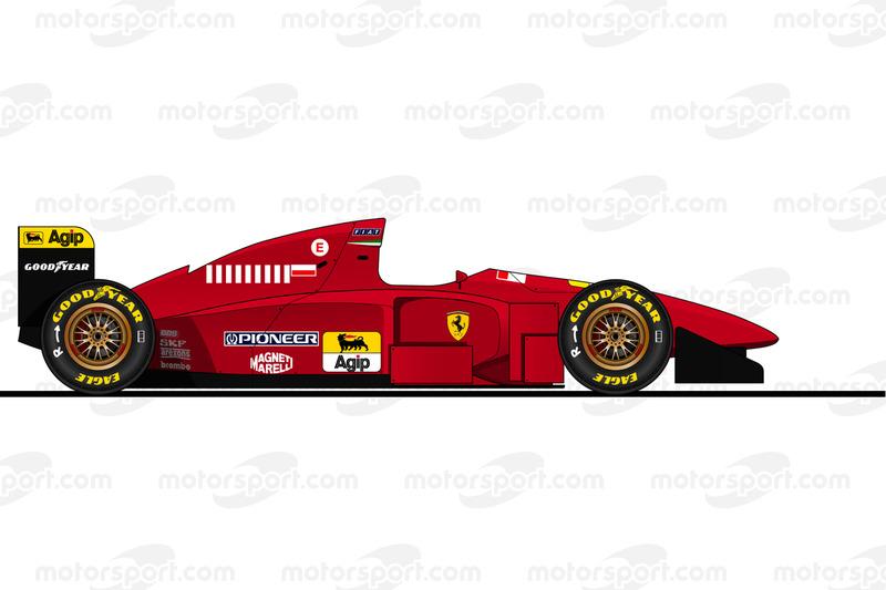 1995 - Ferrari 412 T1B