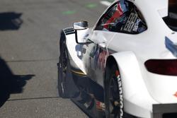 Paul Di Resta, Mercedes-AMG Team HWA, Mercedes-AMG C63 DTM con uno pneumatico rovinato