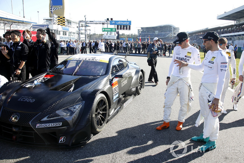 DTM watching on the Lexus LC500