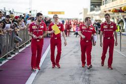 Dave Greenwood, Ferrari Race Engineer
