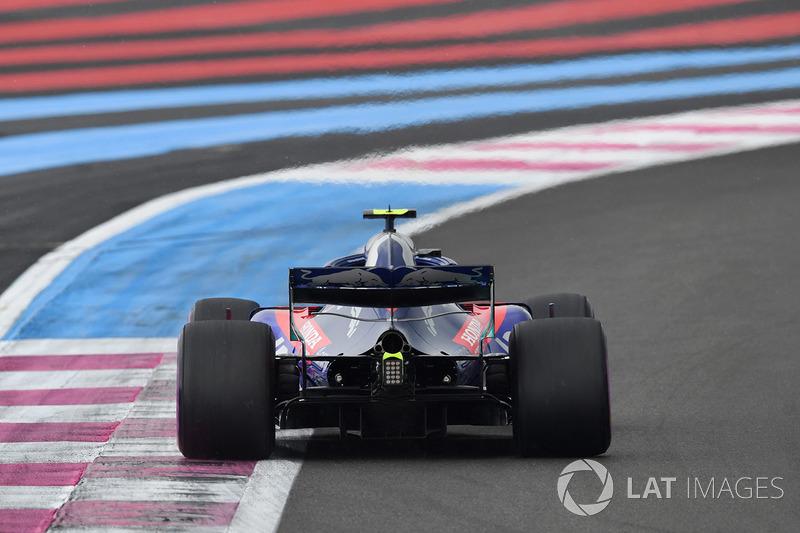 18 місце — П'єр Гаслі, Toro Rosso. Умовний бал — 3,66