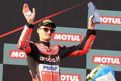 Podium : Chaz Davies, Aruba.it Racing-Ducati SBK Team