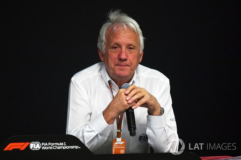 تشارلي وايتينغ، مدير السباقات
