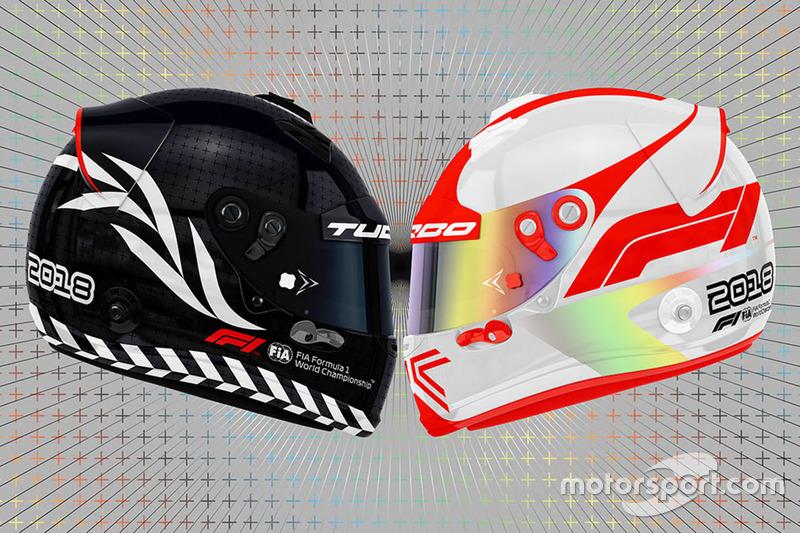 F1 logo ile kask tasarımları