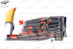 Red Bull RB13 front wing, Abu Dhabi GP