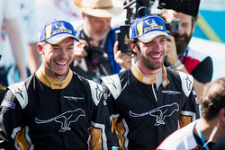 Jean-Eric Vergne, Techeetah, Andre Lotterer, Techeetah make up the first 1st 2nd finsih in Formula E history