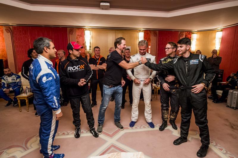 Enzo Bonito y Fredrik Johnsson backstage