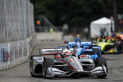Will Power, Team Penske Chevrolet, Ed Jones, Chip Ganassi Racing Honda