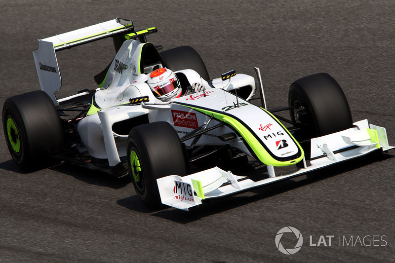 Rubens Barrichello, Brawn Grand Prix BGP 001