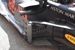 Les déflecteurs de la Red Bull Racing RB14