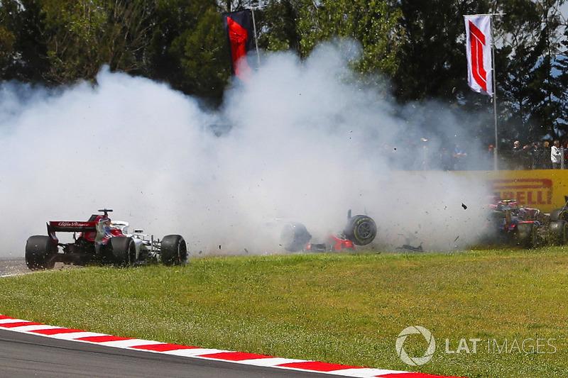 GP Spanyol - Romain Grosjean/Nico Hülkenberg/Pierre Gasly (balapan)