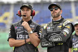 Jimmie Johnson, Hendrick Motorsports, Chevrolet Camaro Lowe's for Pros and Chad Knaus