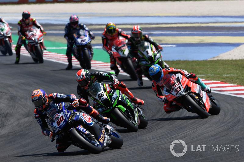 Michael van der Mark, Pata Yamaha, Tom Sykes, Kawasaki Racing