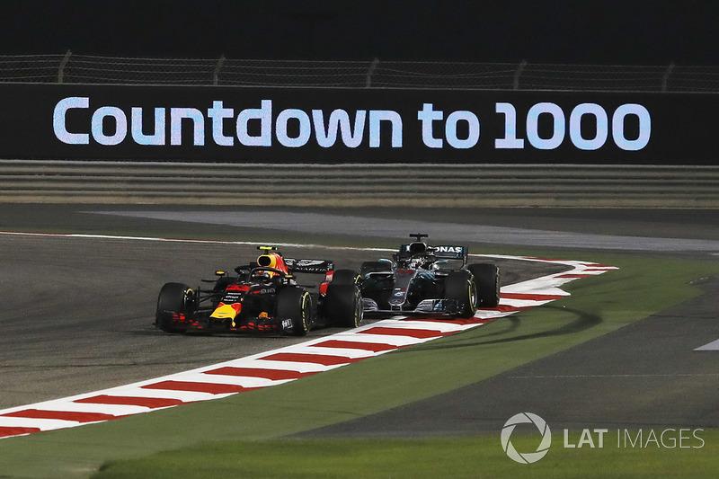 Toque com Hamilton no GP do Bahrein