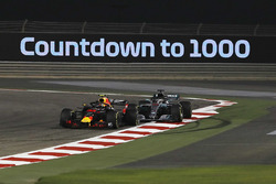 Max Verstappen, Red Bull Racing RB14 and Lewis Hamilton, Mercedes-AMG F1 W09 EQ Power+ collide