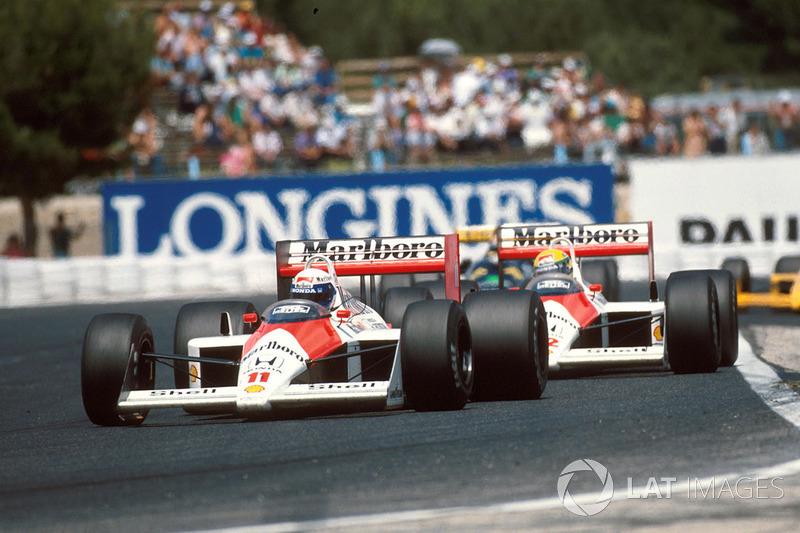 Сезон 1988 года занимает в истории Формулы 1 особое место. Тогда в пару к лидеру McLaren Алену Просту босс команды Рон Деннис пригласил Айртона Сенну. Два главных таланта своего времени стали напарниками.