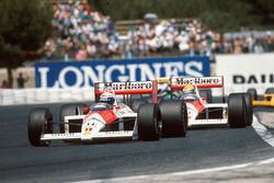 Ален Прост і Айртон Сенна, McLaren MP4/4 Honda