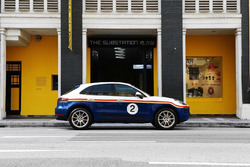 Porsche Macan with Rothmans livery