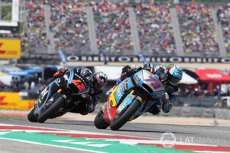 Alex Marquez, Marc VDS, Francesco Bagnaia, Sky Racing Team VR46