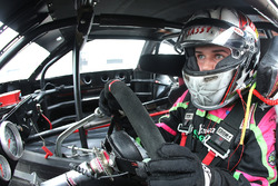 2017 NASCAR Drive for Diversity participant McKenna Haase waits in her car