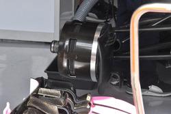 Force India VJM11 front brake detail