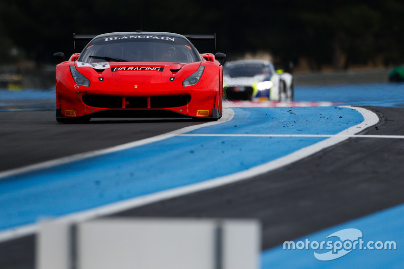 #777 HB Racing, Ferrari 488 GT3: Bernard Delhez, Wolfgang Triller