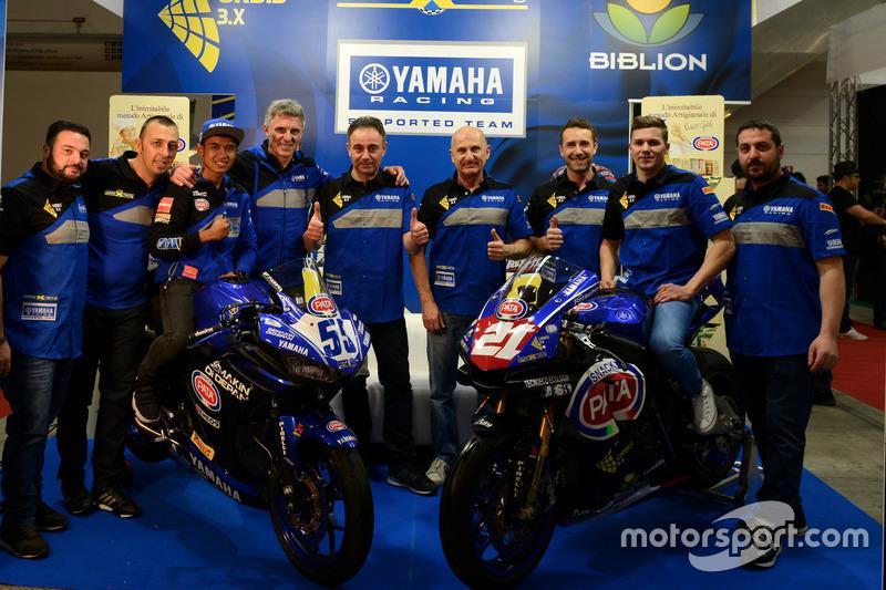 Launching Team MotoX Racing 2018