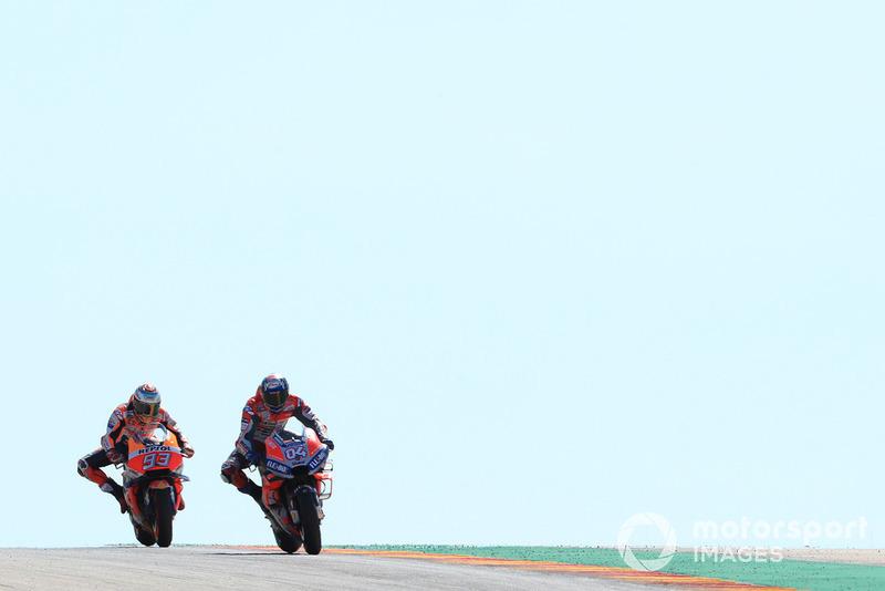 Fin de course sous forme de duel entre Márquez et Dovizioso