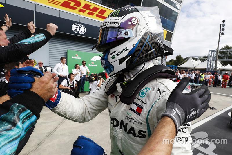 Third place Valtteri Bottas, Mercedes AMG F1