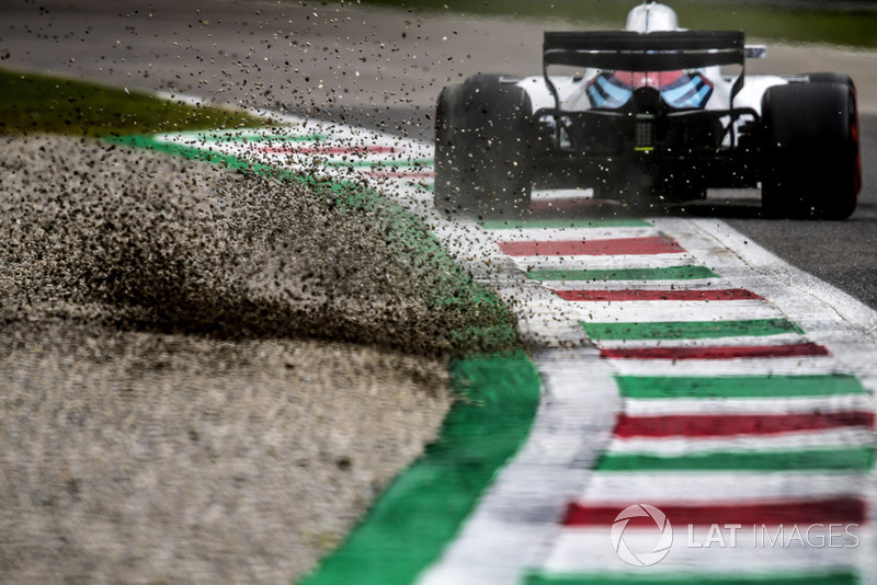 Sergey Sirotkin, Williams FW41, pisa la grava