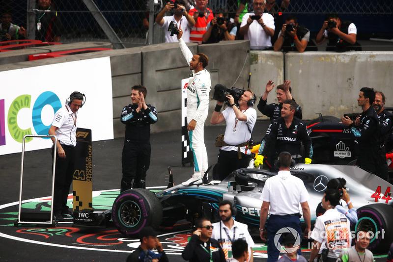 2018 F1 Dünya Şampiyonu Lewis Hamilton, Mercedes AMG F1