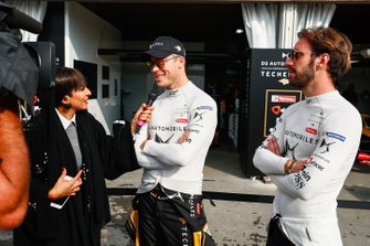 Andre Lotterer, DS TECHEETAH, Jean-Eric Vergne, DS TECHEETAH being interviewed by the media