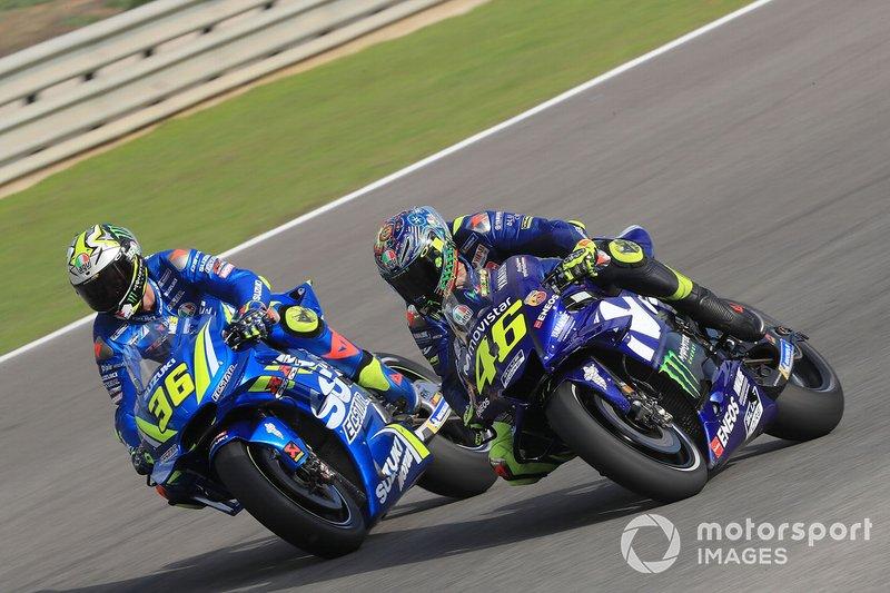 Хоан Мір, Team Suzuki MotoGP, Валентино Россі, Yamaha Factory Racing