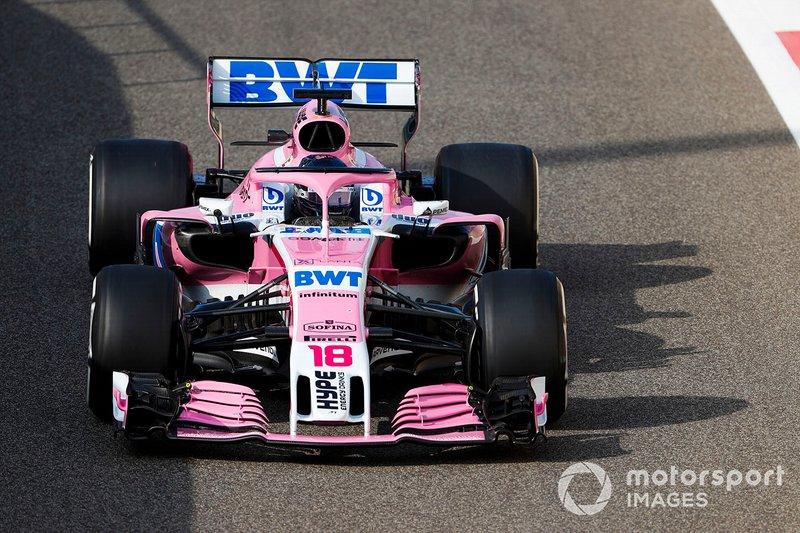 Ленс Стролл, Racing Point Force India VJM11