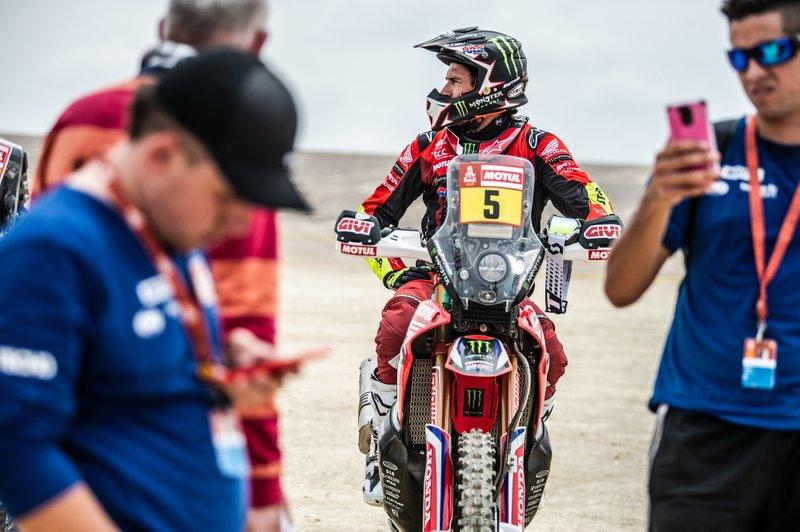 #5 Monster Energy Honda Team Honda: Joan Barreda
