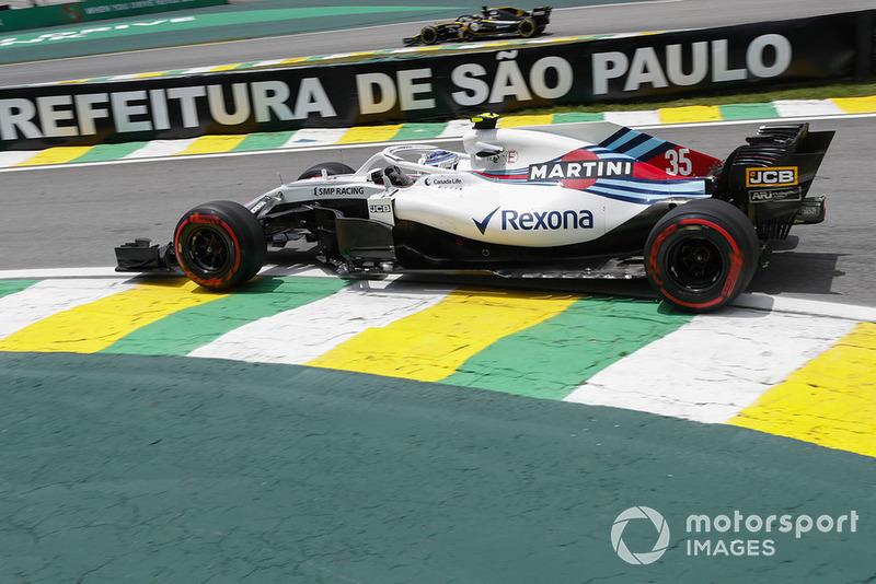 14: Sergey Sirotkin, Williams FW41: 1:10.381