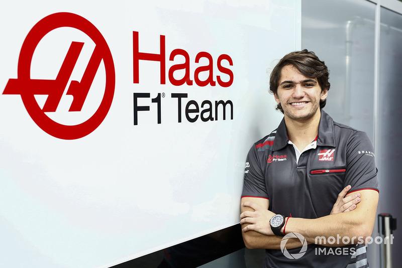 Pietro Fittipaldi, piloto de pruebas y desarrollo de Haas