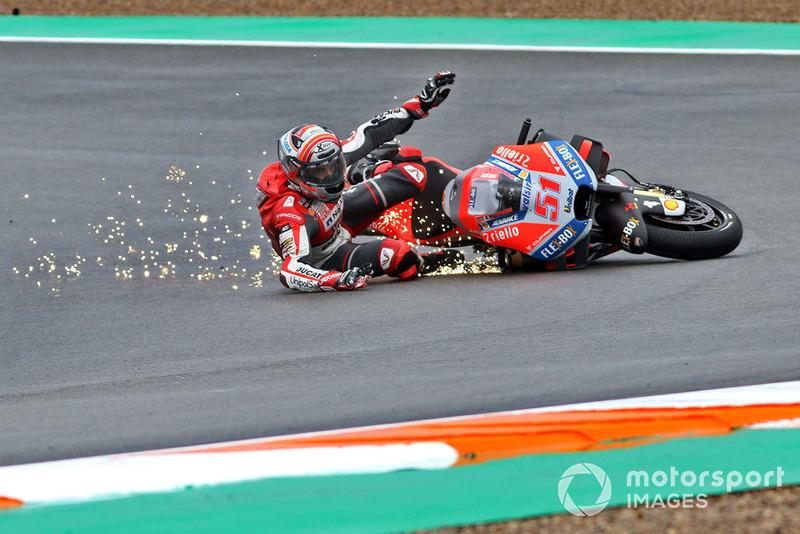 MotoGP Valencia: Michele Pirro, Ducati team
