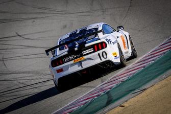 #10 PF Racing Ford Mustang GT4: James Pesek, Jade Buford, Scott Maxwell