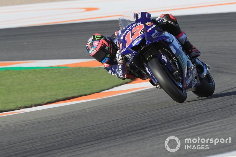 Maverick Viñales (Yamaha Factory Racing) arbore un nouveau numéro